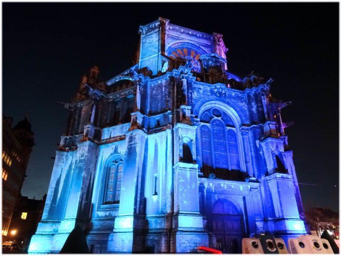 青色のカトリーヌ教会