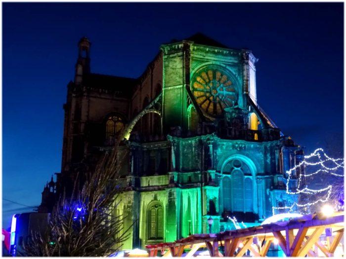 緑色のカトリーヌ教会