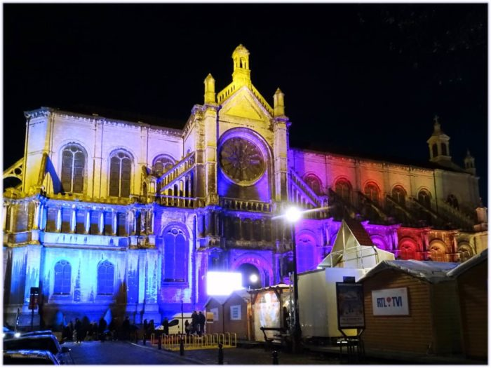 カトリーヌ教会の照明