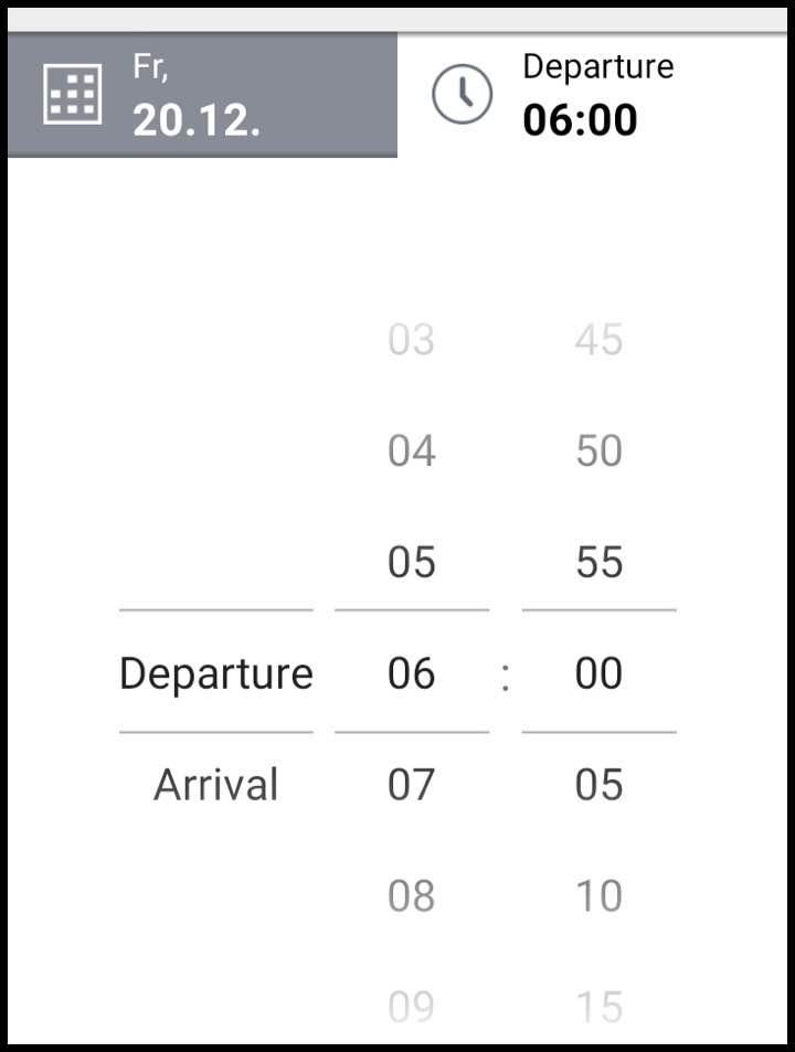 アプリの時間設定