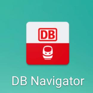 ドイツ鉄道のアプリ