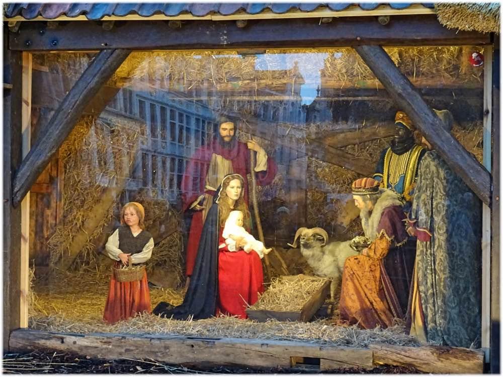 キリストの降誕場面