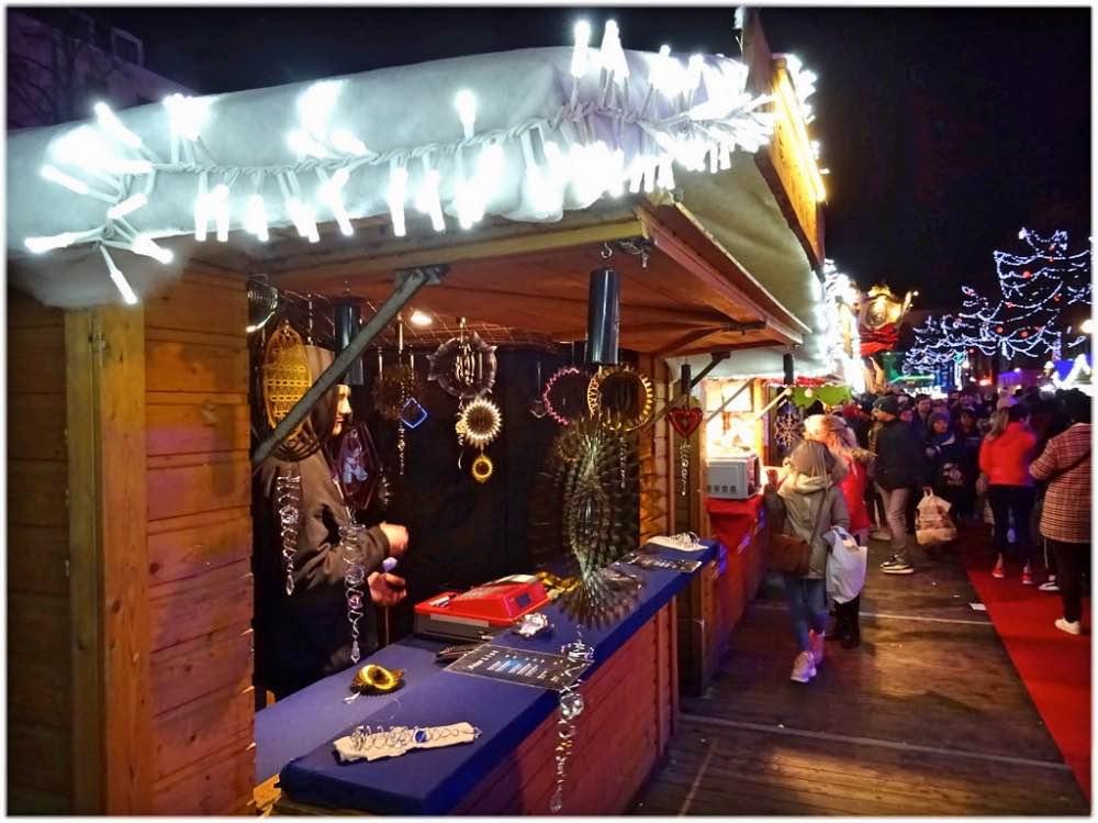 ブリュッセルのクリスマスマーケット