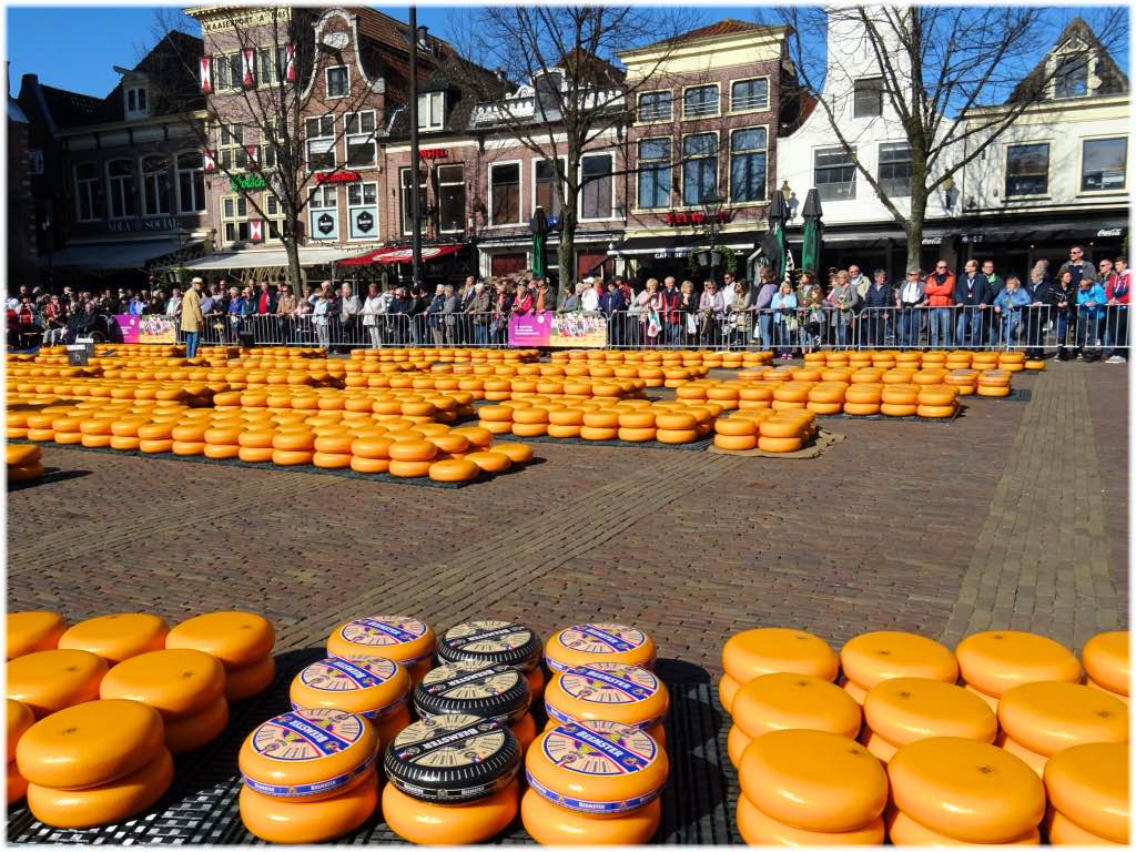オランダのチーズマーケット