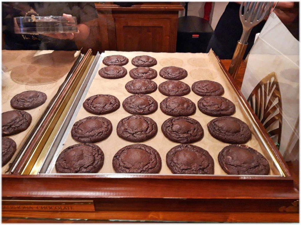 店頭のクッキー