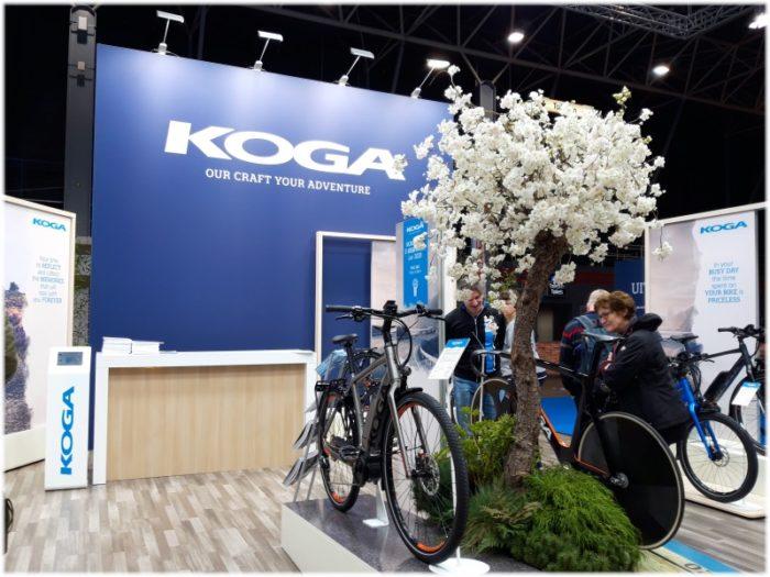 コガ自転車のブース