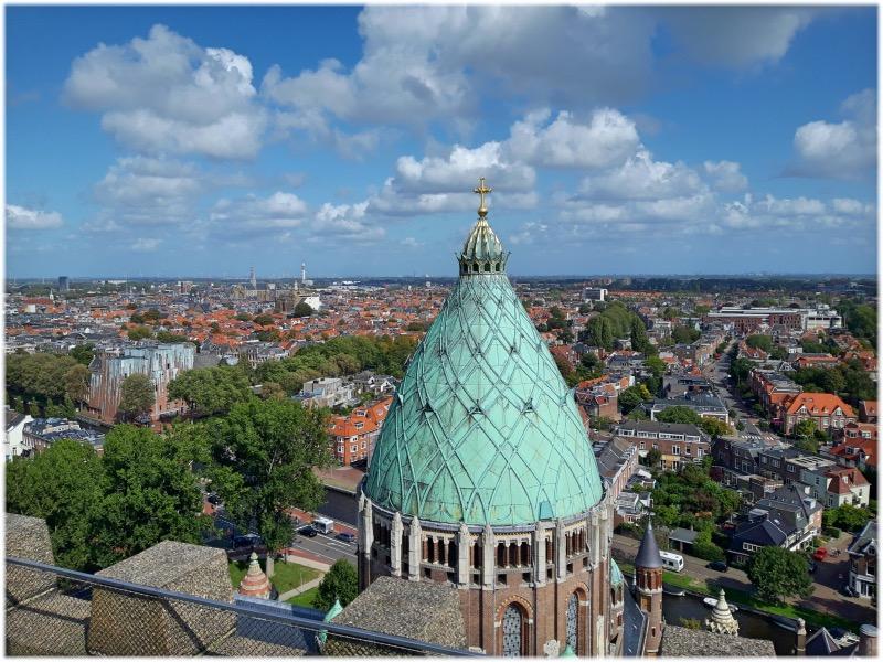 バフォ大聖堂からの眺め