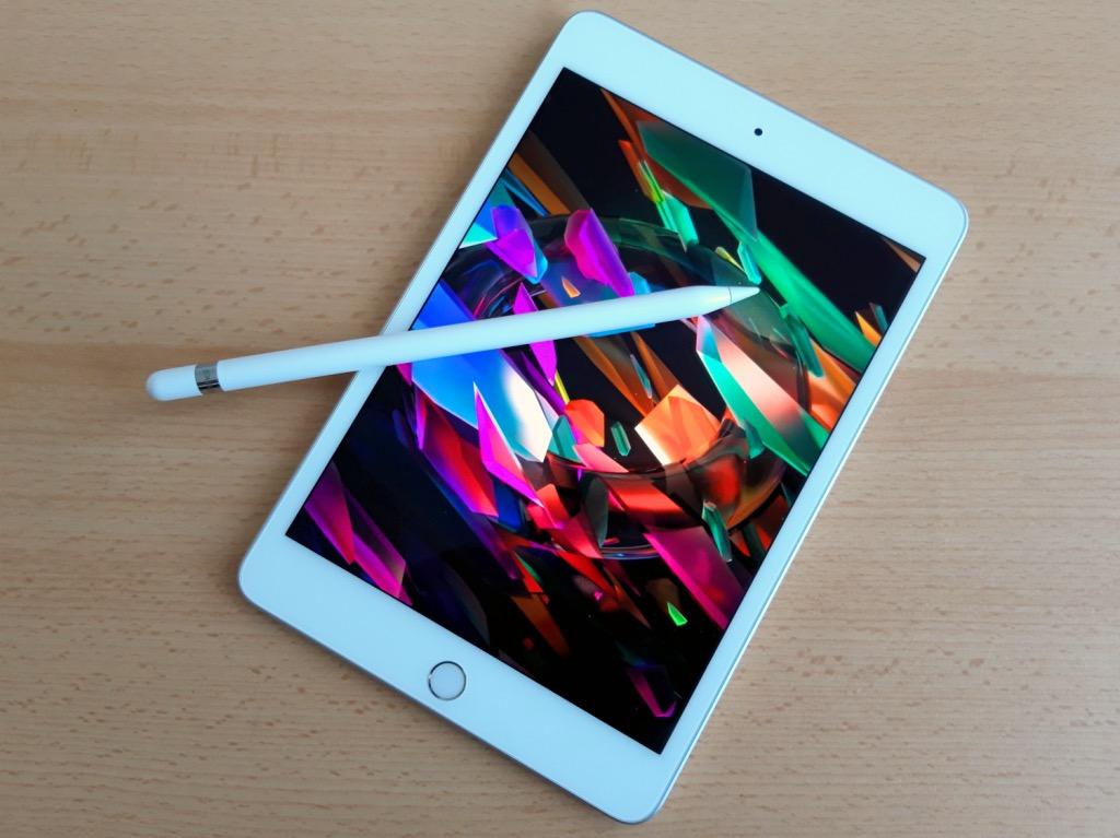 iPadミニとペンシル
