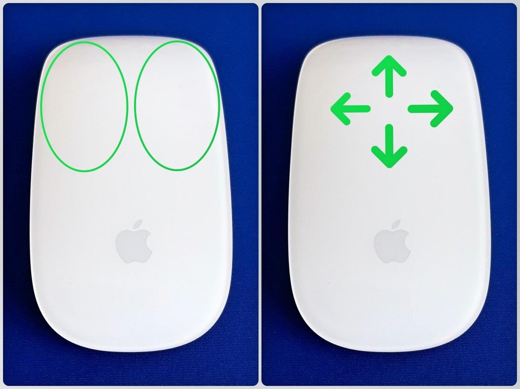 マジックマウスの操作