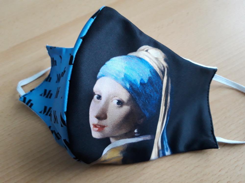 マウリッツハイス美術館のマスク