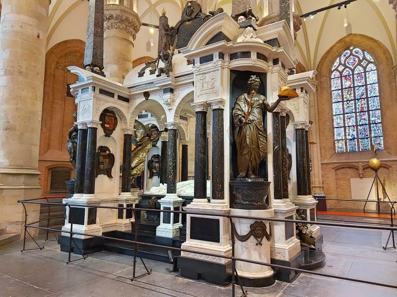 オランダ初代国王の墓