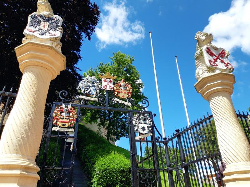 ライデン要塞の入り口
