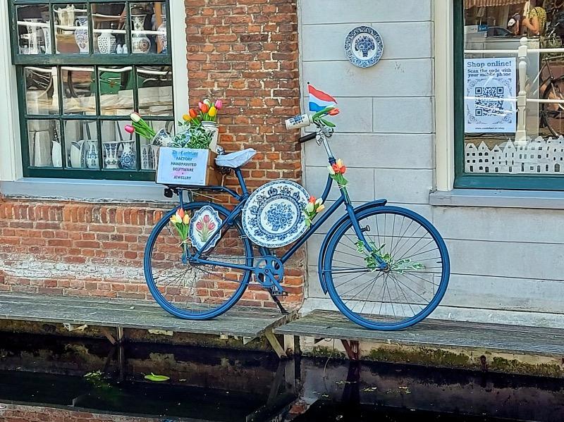 デルフトの自転車