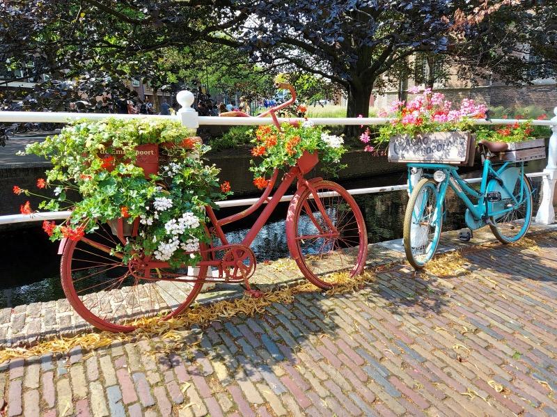 デルフトと自転車