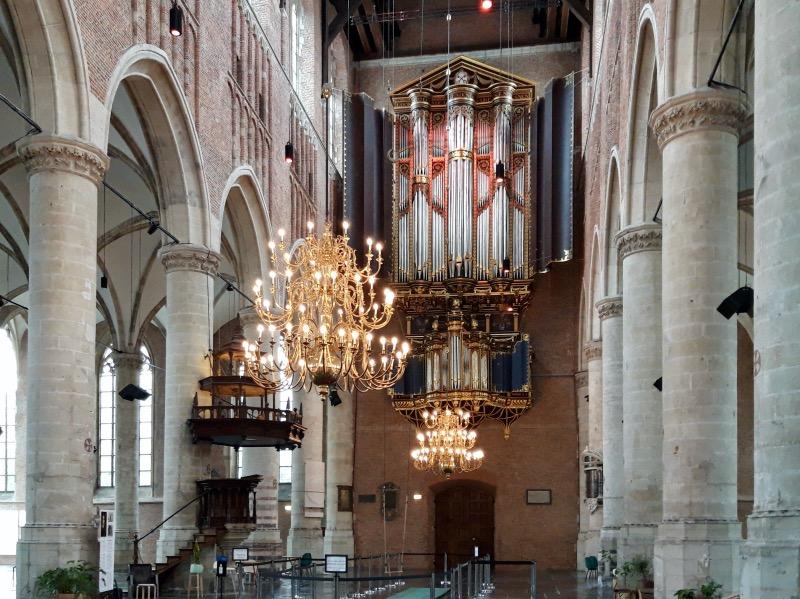 ピータース教会のオルガン