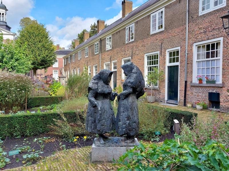 べギンホフの彫像