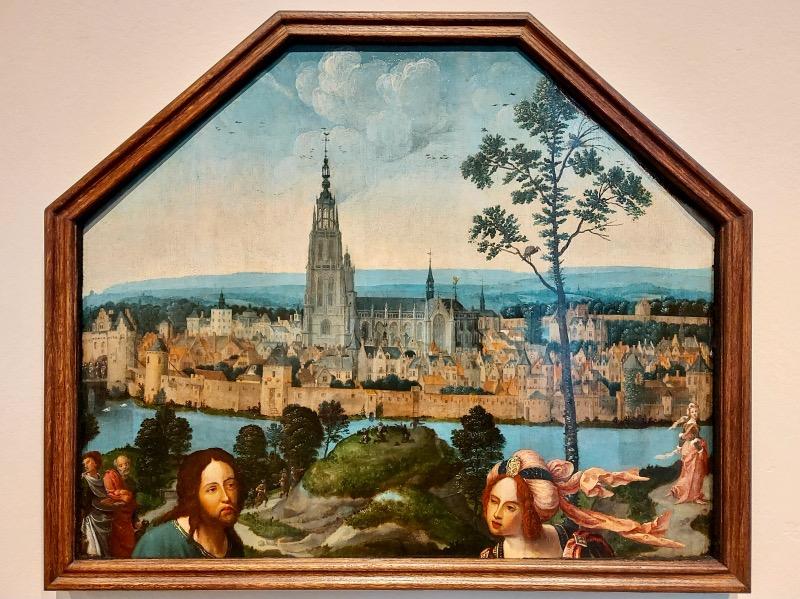 中世ブレダの絵