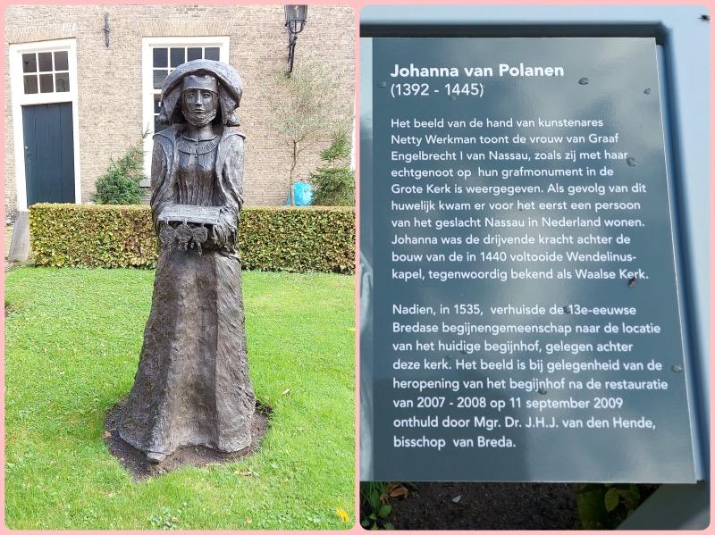 ポラネンの彫像