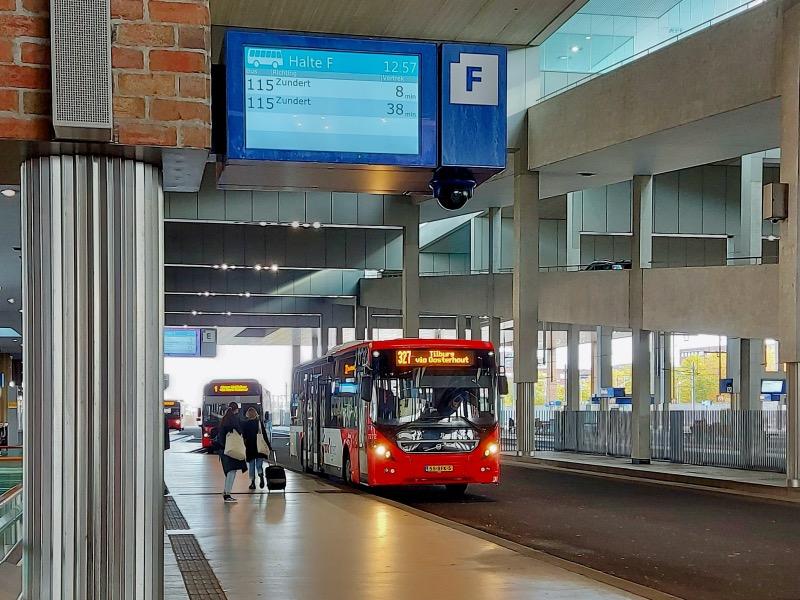 ブレダのバスターミナル