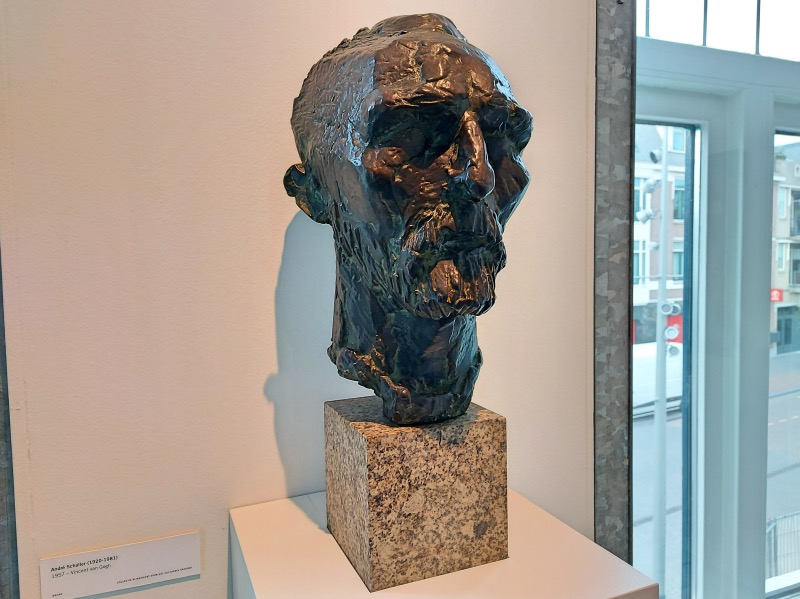 ゴッホの彫刻