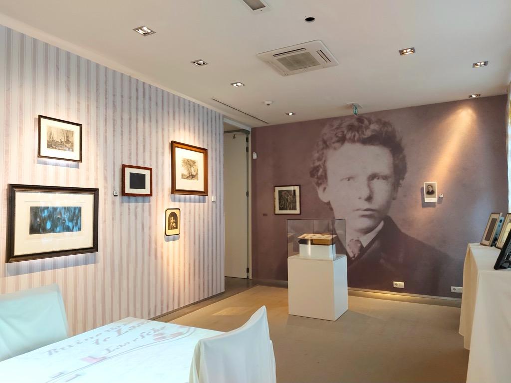 ゴッホの家最初の展示室