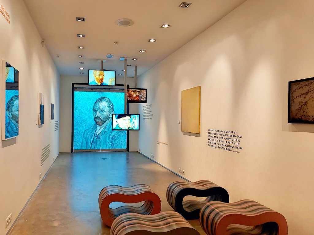 ゴッホの家展示室