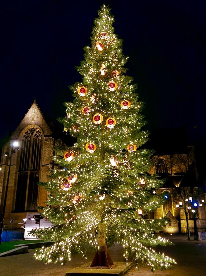 アルクマールのクリスマスツリー
