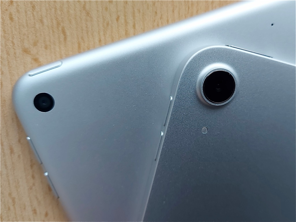 iPadエアーのカメラ
