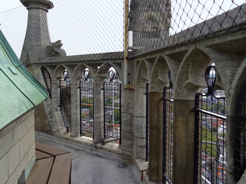 ドム塔の最上部