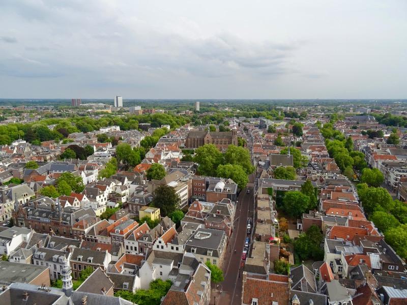 ドム塔からの眺め