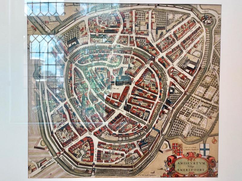 アメルスフォールトの昔の地図