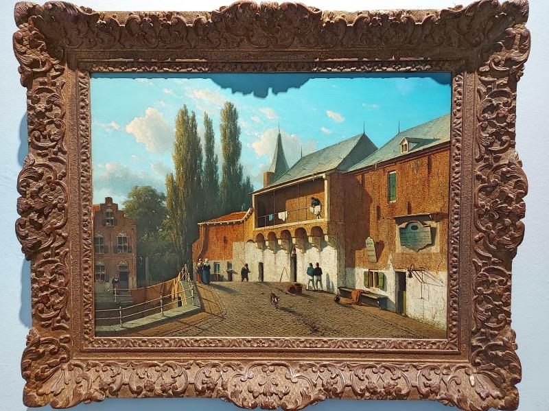 博物館の絵画