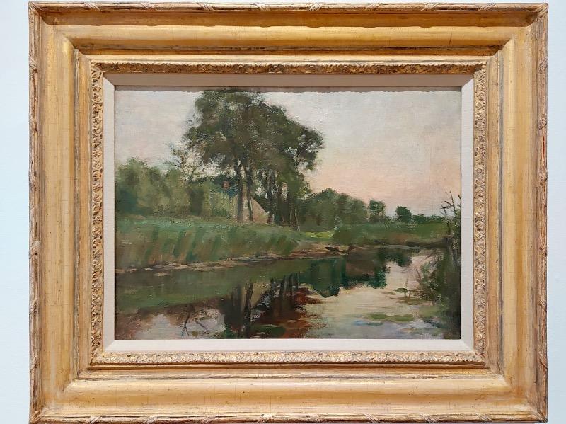 モンドリアンの風景画