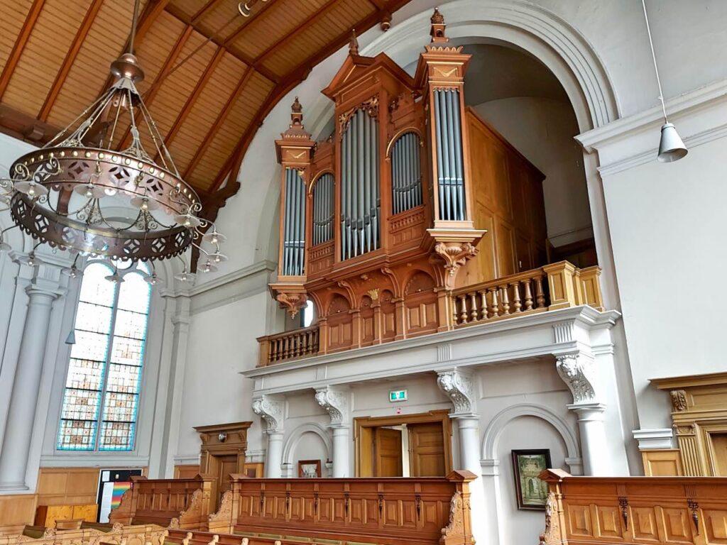 隠れ教会のオルガン