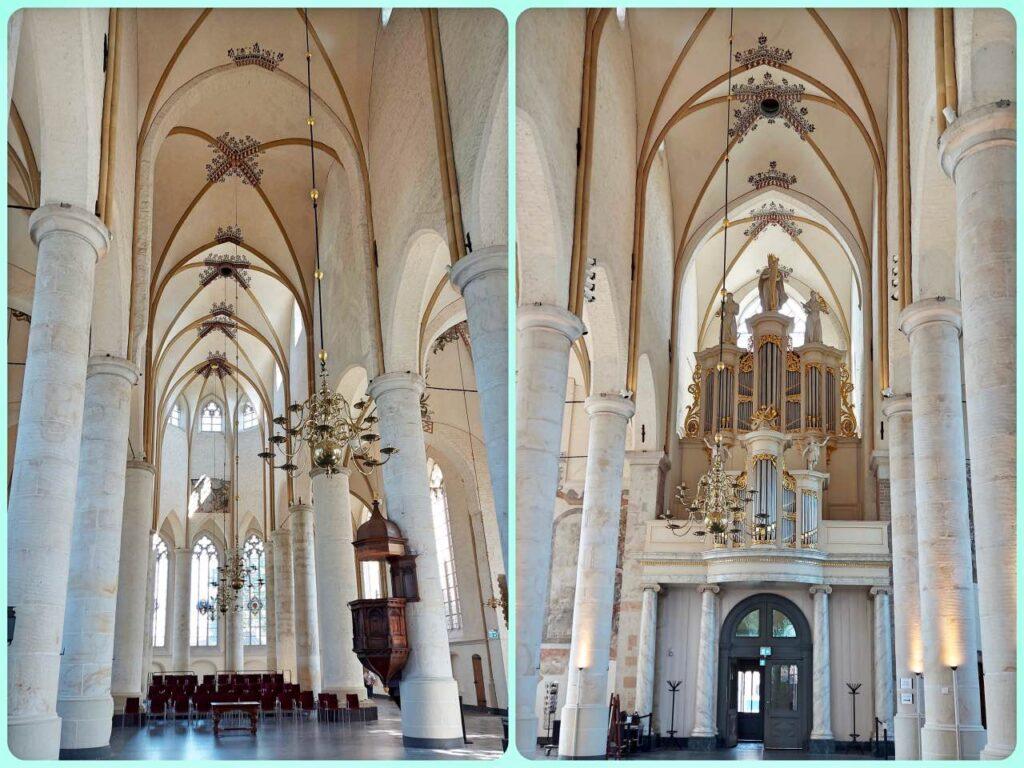 ニコラス教会の内側