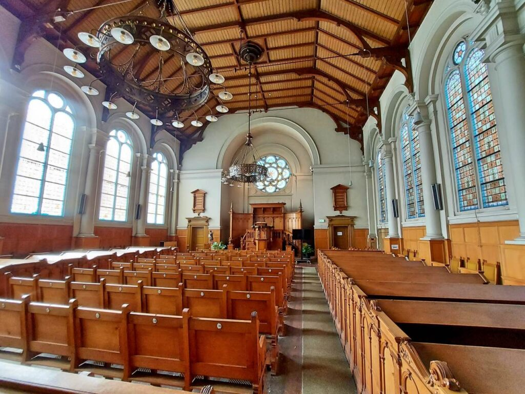 観光案内所にある隠れ教会